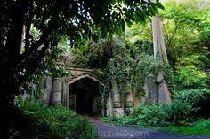 The Highgate Cemetery opened in 1839 and has 170,000 people buried in around 53,000 graves. It is located in North London, England and has many notable people buried there. The cemetery is also part of a nature reserve with beautiful landscapes all around.