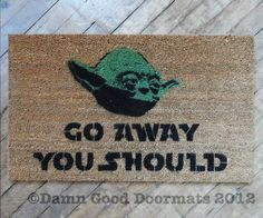 If the force is with you… | 19 Welcome Mats That Explain Your Feelings So You Don't Have To