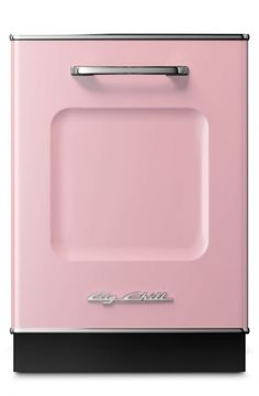 Gotta have a dishwasher to wash your cups after a night of drinkin'! Love this pink, retro Big Chill one.