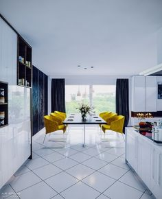 4 Apartments That Flaunt Yellow Accents