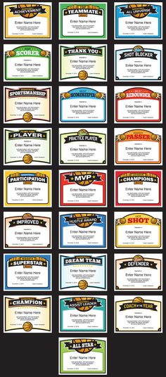 Elite basketball award certificate templates basketball coach and basketball certificates templates for boys and girls team these make great awards for season ending parties yelopaper Choice Image