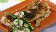 Michael Symon Grilled Chicken Salsa Verde Radish Salad