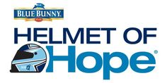 Peach's Neet Feet is chosen to appear on the Blue Bunny Helmet of Hope (Jimmie Johnson Foundation).