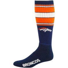 Denver Broncos Navy Blue Super Tube Socks