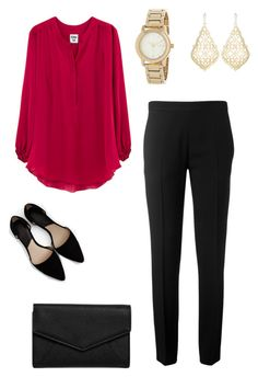 Cardinal by averyg on Polyvore featuring polyvore, fashion, style, Chloé, MANGO, LULUS, DKNY, Kendra Scott and clothing