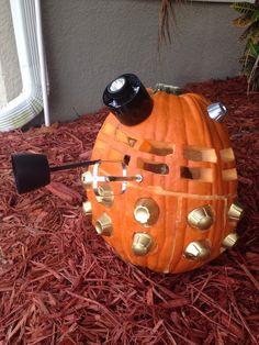 My Dalek pumpkin this year :)