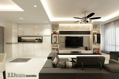 Pincharis Ng On Home Ideas  Pinterest  Living Rooms Tv Fascinating Hdb 4 Room Living Room Design Review