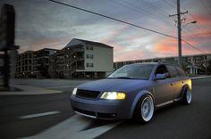 slammed Audi Allroad
