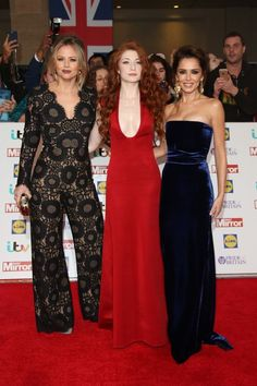 Girls Aloud had a mini-reunion at tonight's Pride of Britain Awards