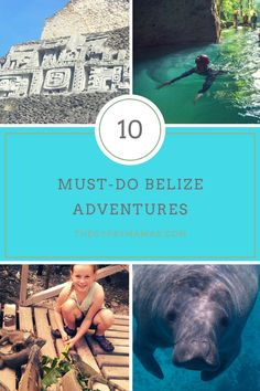 Top things to do in Belize! Plan your excursions and day trips. 10 Must Do Adventures in B. Belize Cruise Port, Belize Honeymoon, Belize Vacations, Belize Resorts, Belize City, Belize Travel, Cruise Travel, Belize Flag, Cruise Excursions