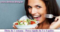 Dieta de uma semana cardápio completíssimo, dieta fácil de fazer, confira como perder rápido e sem sacrifício