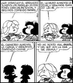 Miguelito Mafalda Quotes, Sarah Andersen, Jim Davis, Cartoon Quotes, Humor Grafico, Sarcastic Quotes, Words To Describe, Baby Dogs, Comic Strips