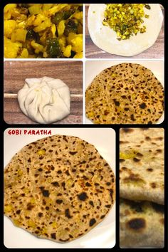 Gobi paratha is a type of paratha or parantha, originating from the Indian subcontinent, that is stuffed with flavoured cauliflower (gobi) and some Indian spices.  #gobiparatha #paratha #indianbread #indischbrot #brot #bread #homemade #hausgemacht #recipe #yummy #tasty #lecker #delicious #recipe #vegetarian #vegetarisch #vegan #cooking #easyrecipe #easy #indischessen #indianfood #food #essen #cauliflower #cauliflowerparatha #cauliflowerrecipe Indian Food Recipes, Vegan Recipes, Cauliflower Recipes, Breads, Spices, Easy Meals, Vegetarian, Tasty, Cheese
