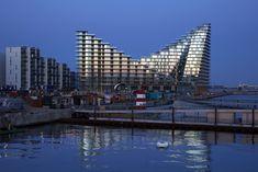 Slender Hi-Con balconies in Denmark Aarhus, Square Meter, Balconies, Ambition, Denmark, New York Skyline, Concrete, Architecture, Building