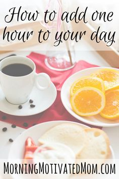 How to add one hour to your day. We all get just 24 hours a day so do these 2 things: have an intentional evening and lessen the mindless time-wasters.