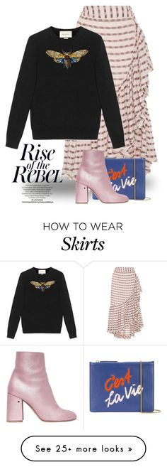 """""""Sep 1st (tfp) 4266"""" by boxthoughts on Polyvore featuring Ulla Johnson, Gucci, Lizzie Fortunato, Laurence Dacade and tfp"""