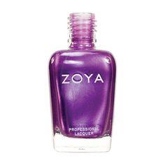 Zoya Nail Polish ZP211  Harmonie  Purple Nail Polish Metallic Nail Polish