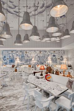 Philippe Starck designs a surreal nautical interior for Miami's Bazaar Mar