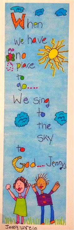 A new JennyLU!  Sing to God~