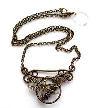 Halsband med ametist från Lady of the lake smycken http://ladyofthelake.se
