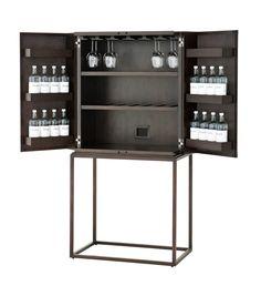 hemingway koffer bar mit separatem tablett koffer wohnideen und wohnzimmer. Black Bedroom Furniture Sets. Home Design Ideas