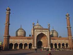 """Jama Masjid. Delhi - Viaje """"Religiones de India"""" http://www.indiraviajesonline.es/lo-mas-indira/religiones-de-india"""