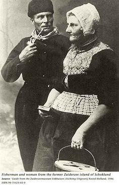 Fischerman/woman from Schokland (now called Flevoland).