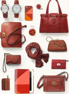 Fossil bags and accessories