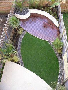 minimalist motif design pour l' amenagement petit jardin