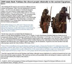 Nubians closer to ancient Egyptians