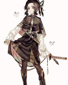Demon Slayer: Kimetsu no Yaiba (鬼滅の刃) Kawaii Anime Girl, Anime Art Girl, Anime Boys, Anime Angel Girl, Demon Slayer, Slayer Anime, Fanarts Anime, Anime Characters, Manga Japan