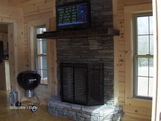 Tryon Log Home Series by Blue Ridge Log Cabins #loghomes #logcabins #vacation #vacationcabin