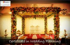 Certified #Wedding Planner – from team.i 3 month programme conducted by industry experts. http://www.teami.org/wedding-planning …  #WeddingPlanning