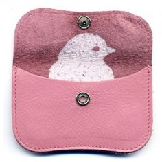 minime purse pink leather (Keecie, The Netherlands)