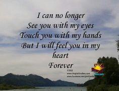 In my heart until I take my last breath