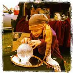 Just Plain Ivy Fortune Teller Booth | Carnival | Pinterest | Fortune teller and School carnival & Just Plain Ivy: Fortune Teller Booth | Carnival | Pinterest ...