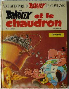 Asterix and the Cauldron Rene Goscinny Albert Uderzo Comics Vintage, Vintage Books, Vintage Posters, Asterix E Obelix, Albert Uderzo, Comic Art, Comic Books, Comedy, Lectures