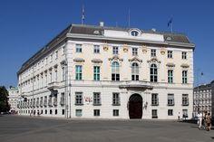Federal Chancellery on Ballhausplatz.Vienna