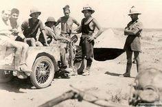 A Moto Guzzi Trailce Africa version in North Africa