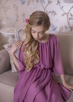 My favourite silk Meduse dress from Amelie et Sophie!