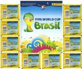 2014 Panini Stickers FIFA World Cup Brazil Special Collectors Package! Features 10 Factory Sealed Packs PLUS 72 Page World Cup Sticker Album...