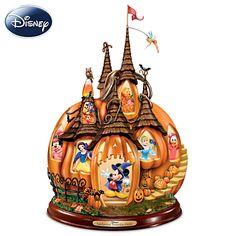 """:Disney's Enchanted Pumpkin Castle"" Illuminated Sculpture"