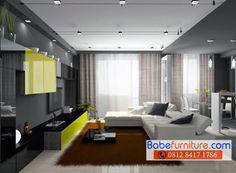 Furniture Area Sudirman 081284171786: Desain Interior Furniture Apartemen Minimalis Port...