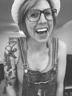 Floral half sleeve tattoo by #littlelinda