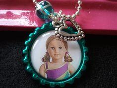 McKenna Little Girl's Necklace Charm by PreciousGirlsCrafts, $10.99