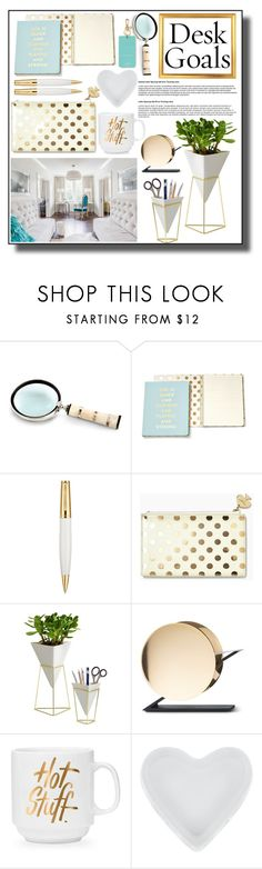 """""""Sin título #190"""" by alita210100 ❤ liked on Polyvore featuring interior, interiors, interior design, home, home decor, interior decorating, Cyan Design, Kate Spade, Versace and Umbra"""