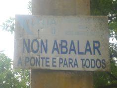 Cartel ponte insua de Seivane.CC by Virginia Basanta Rodríguez