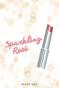 The perfectly sheer shade for the simply sophisticated woman. Try Mary Kay® True Dimensions® Sheer Lipstick in Sparkling Rosé! | Mary Kay