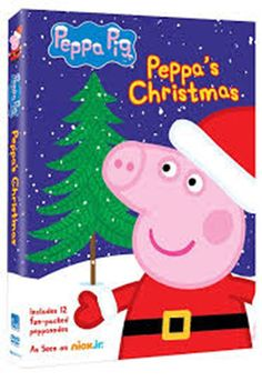 New Nick Jr Peppa Pig Peppa's Christmas DVD 12 Fun Packed Episodes | eBay
