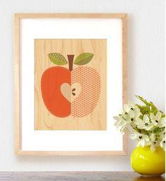 Apfeldesigns für Innenräumen